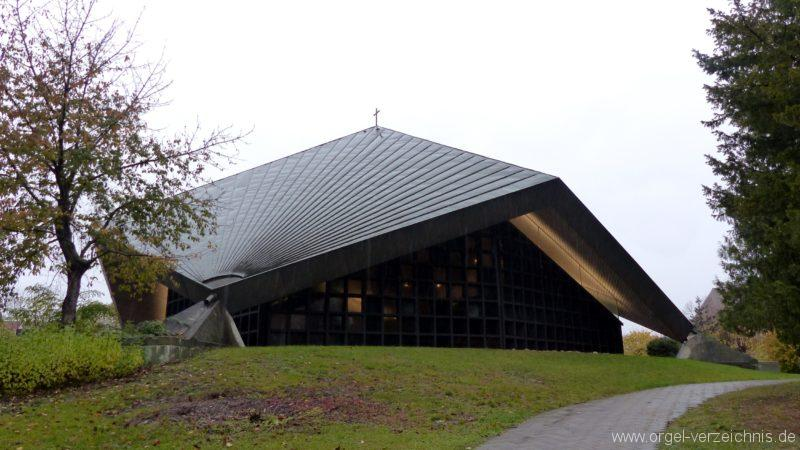 Breisach am Rhein Martin Bucer Kirche Aussenansicht III