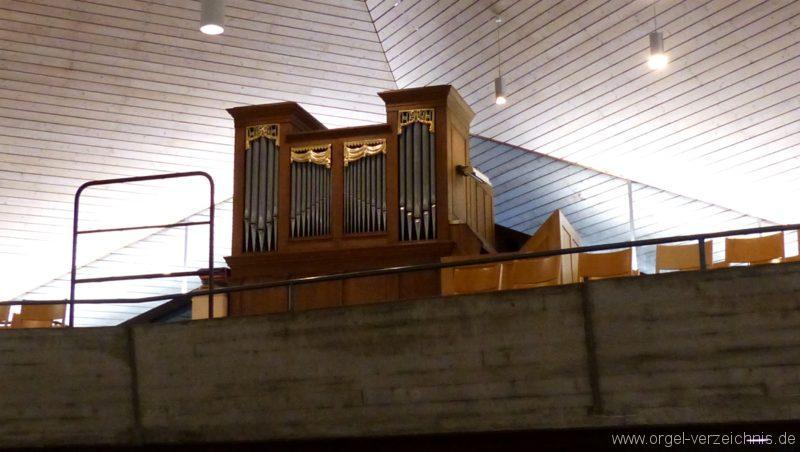 Breisach am Rhein Martin Bucer Kirche Kircheninnenansicht II