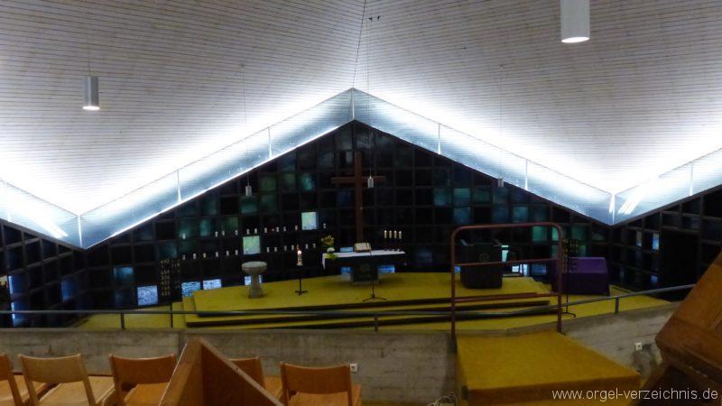 Breisach am Rhein Martin Bucer Kirche Kircheninnenansicht III