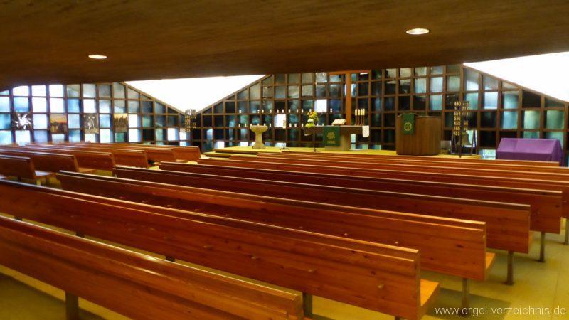 Breisach am Rhein Martin Bucer Kirche Kircheninnenansicht V