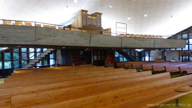Breisach am Rhein Martin Bucer Kirche Kircheninnenansicht VI