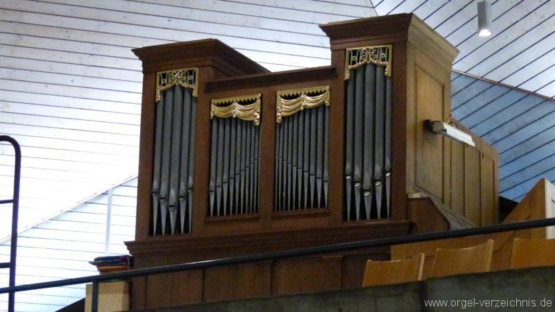 Breisach am Rhein Martin Bucer Kirche Orgelprospekt I