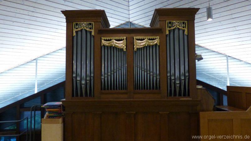 Breisach am Rhein Martin Bucer Kirche Orgelprospekt II