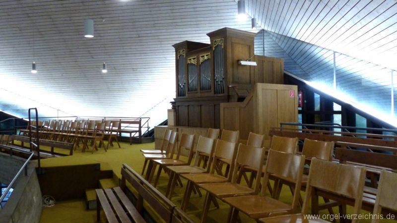 Breisach am Rhein Martin Bucer Kirche Orgelprospekt III