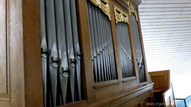 Breisach am Rhein Martin Bucer Kirche Orgelprospekt IV