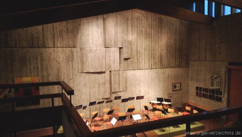 Kirchzarten Heilig Geist Kirche Innenansicht I