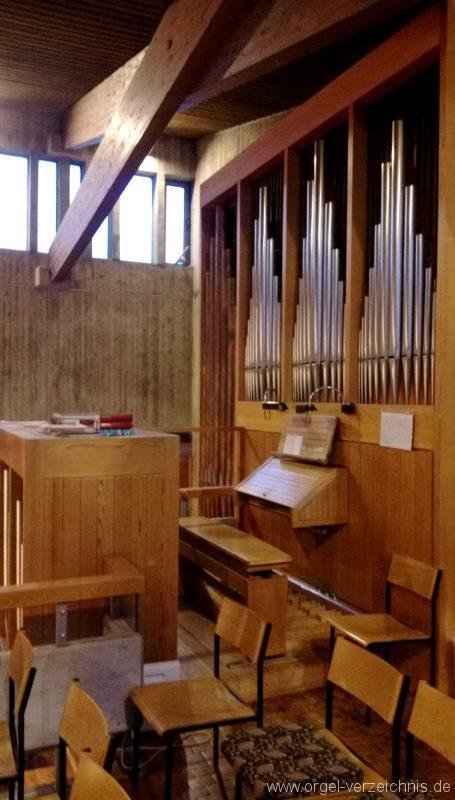 Kirchzarten Heilig Geist Kirche Prospekt I