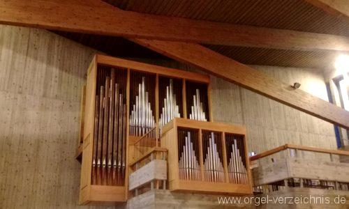 Kirchzarten Heilig Geist Kirche Prospekt III