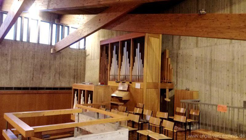 Kirchzarten Heilig Geist Kirche Prospekt V
