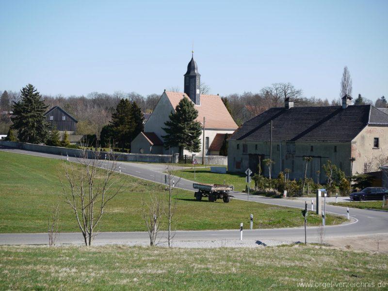 Kleinröhrsdorf Dorfkirche Aussenansicht