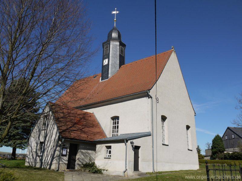 Kleinröhrsdorf Dorfkirche Aussenansicht III