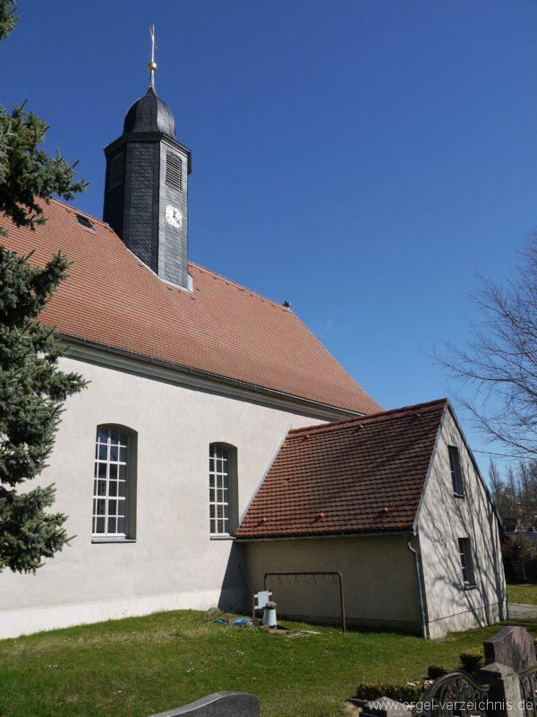 Kleinröhrsdorf Dorfkirche Aussenansicht IV