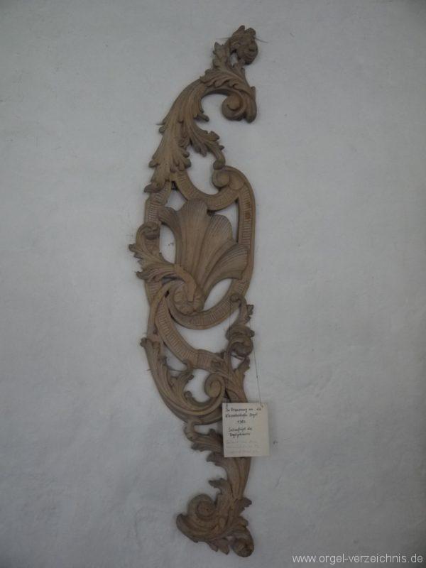 Kleinröhrsdorf Dorfkirche Orgel Flügel I