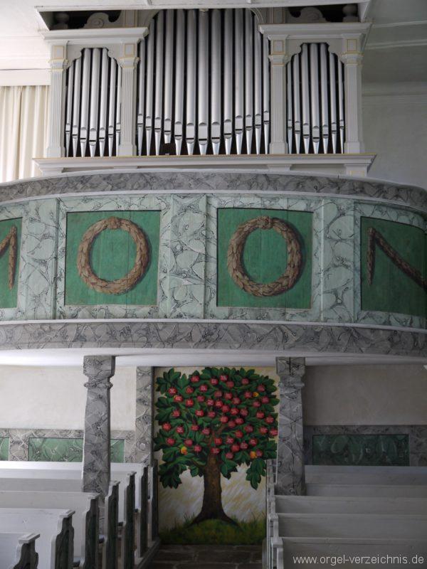 Kleinröhrsdorf Dorfkirche Orgelprospekt I