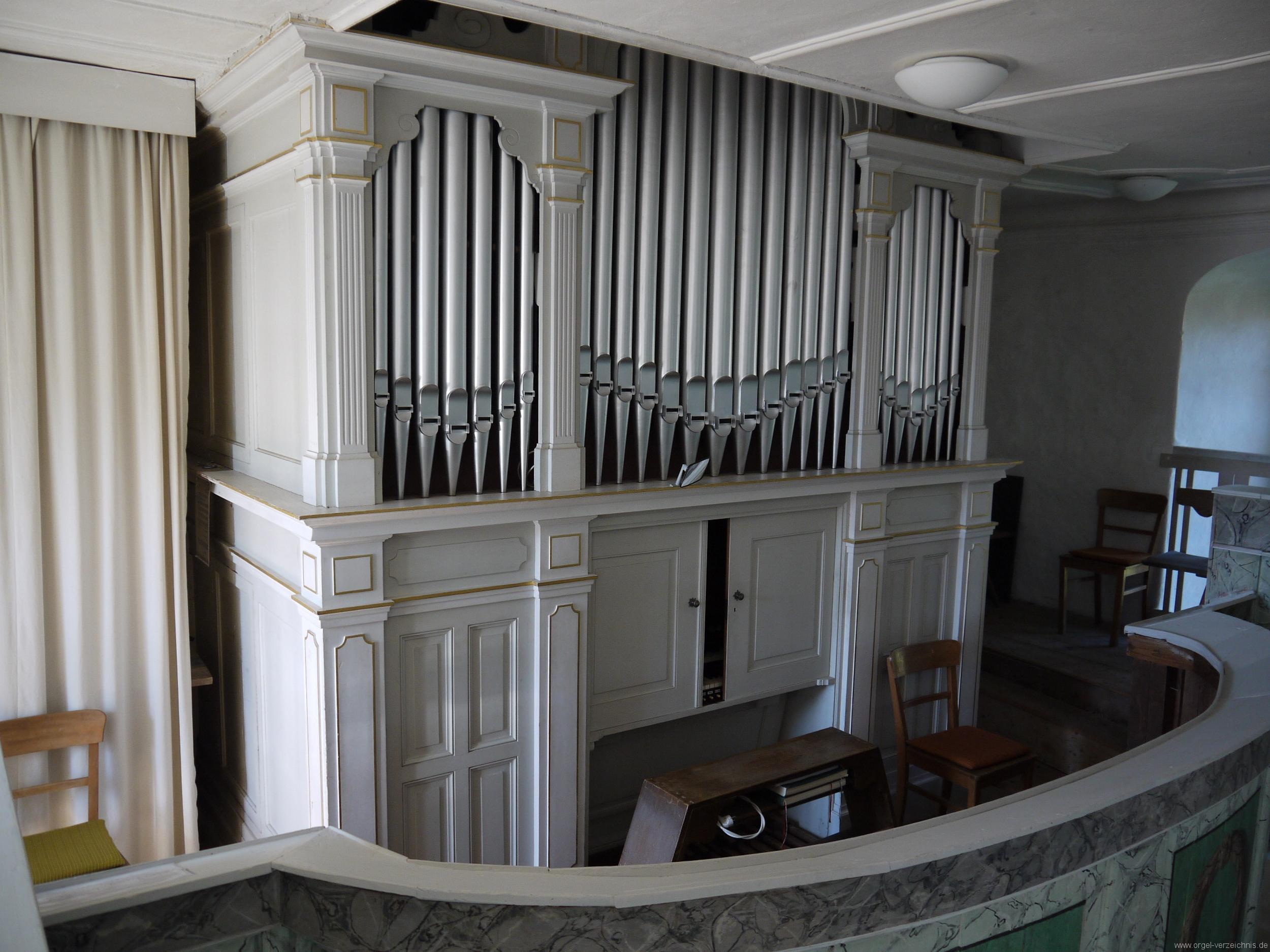 Kleinröhrsdorf Dorfkirche Orgelprospekt II