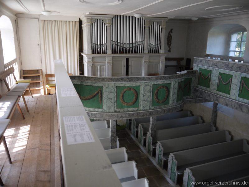 Kleinröhrsdorf Dorfkirche Orgelprospekt III