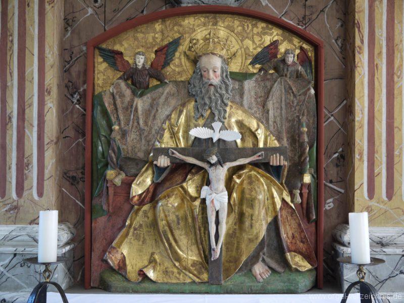 Kleinröhrsdorf Dorfkirche Relief