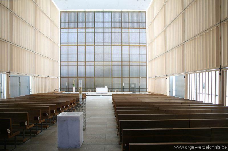 München Herz Jesu Innenansicht I
