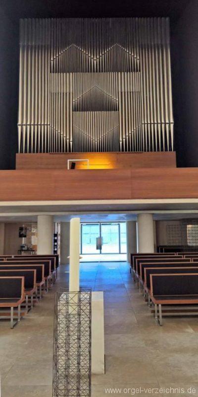 München Herz Jesu Orgelprospekt I