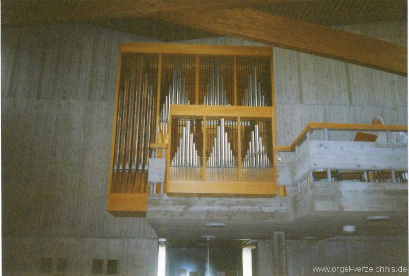 Kirchzarten Heilig-Geist-Kirche Orgel