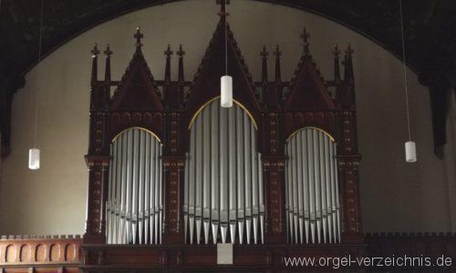 Bad Schlema Niederschlema Martin Luther Kirche Orgelprospekt I