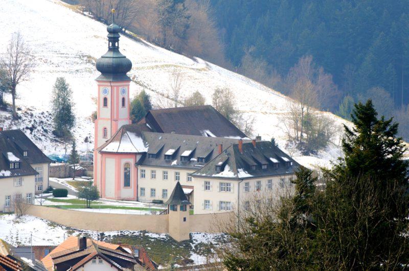 Bollschweil St. Ulrich im Schwarzwald St. Peter und Paul Aussenansicht II