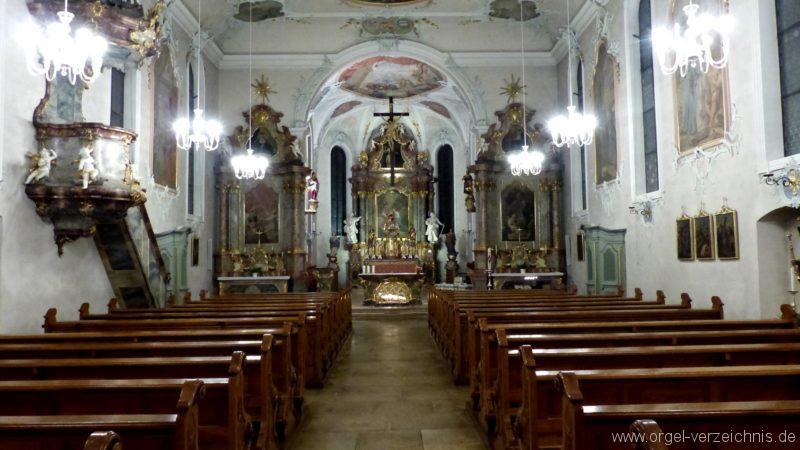 Bollschweil St. Ulrich im Schwarzwald St. Peter und Paul Innenansicht I