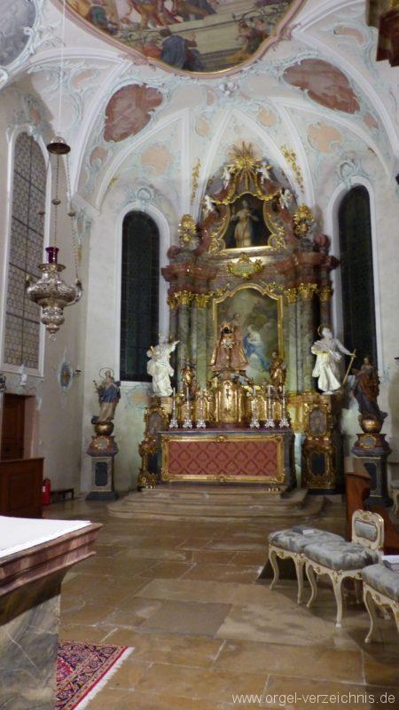 Bollschweil St. Ulrich im Schwarzwald St. Peter und Paul Innenansicht II