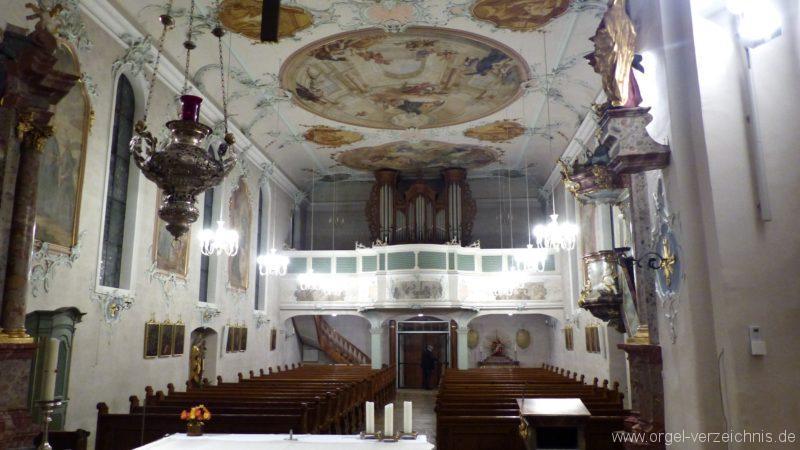 Bollschweil St. Ulrich im Schwarzwald St. Peter und Paul Innenansicht III