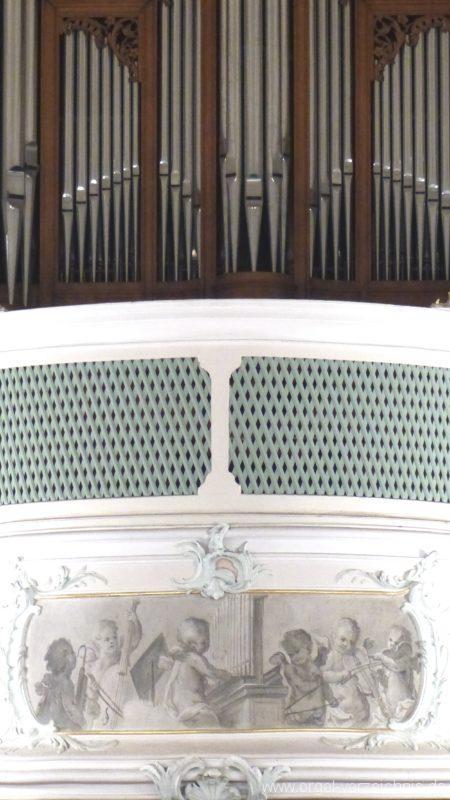 Bollschweil St. Ulrich im Schwarzwald St. Peter und Paul Innenansicht IV