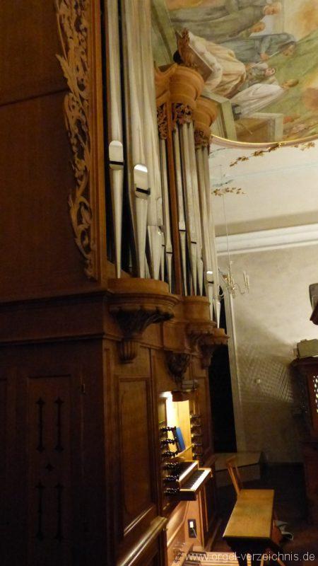 Bollschweil St. Ulrich im Schwarzwald St. Peter und Paul Orgelprospekt I
