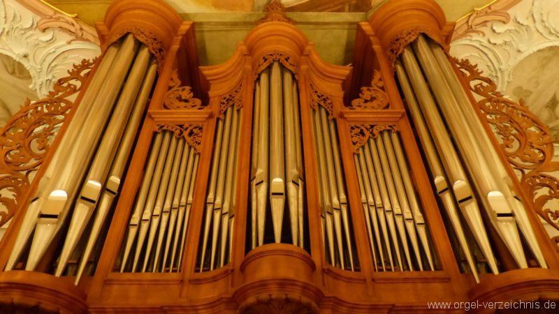 Bollschweil St. Ulrich im Schwarzwald St. Peter und Paul Orgelprospekt II