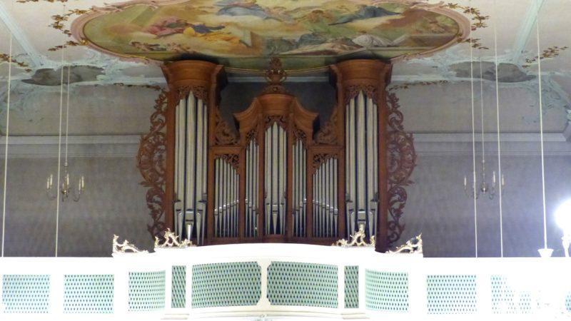 Bollschweil St. Ulrich im Schwarzwald St. Peter und Paul Orgelprospekt IV