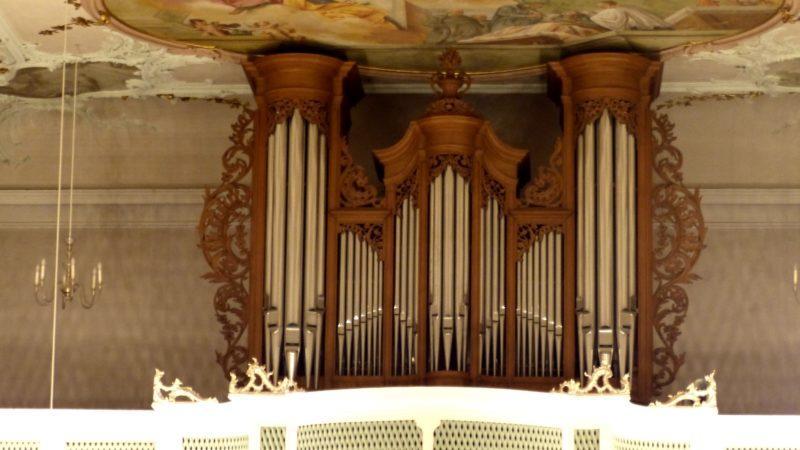 Bollschweil St. Ulrich im Schwarzwald St. Peter und Paul Orgelprospekt V