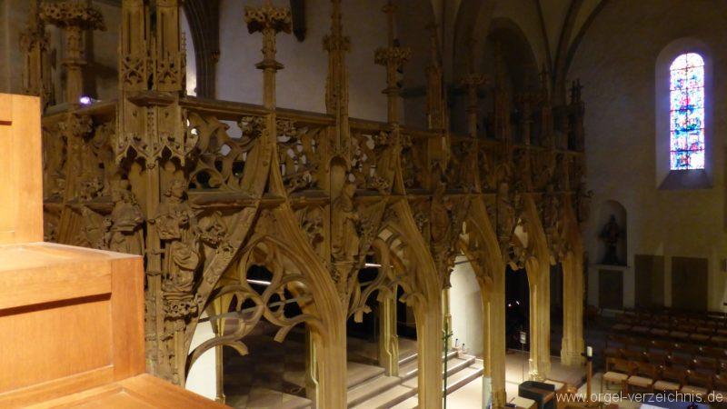 Breisach am Rhein Münster Blick Chorraum I