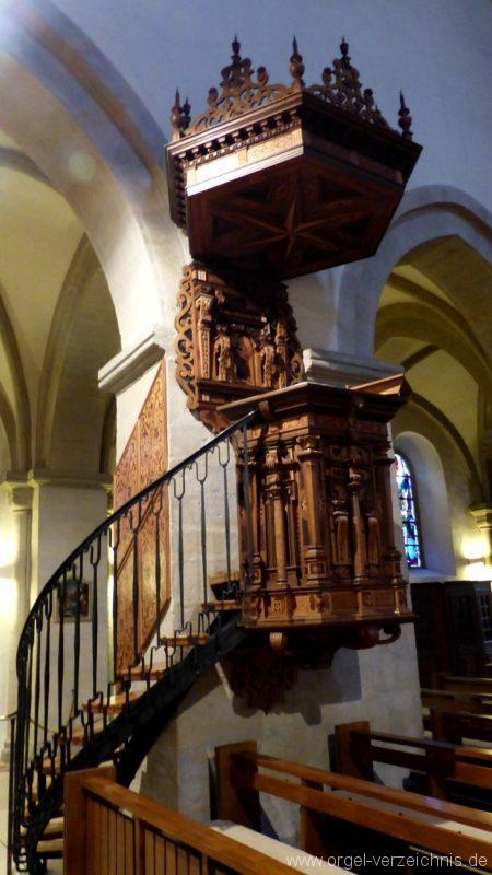 Breisach am Rhein Münster Kanzel I
