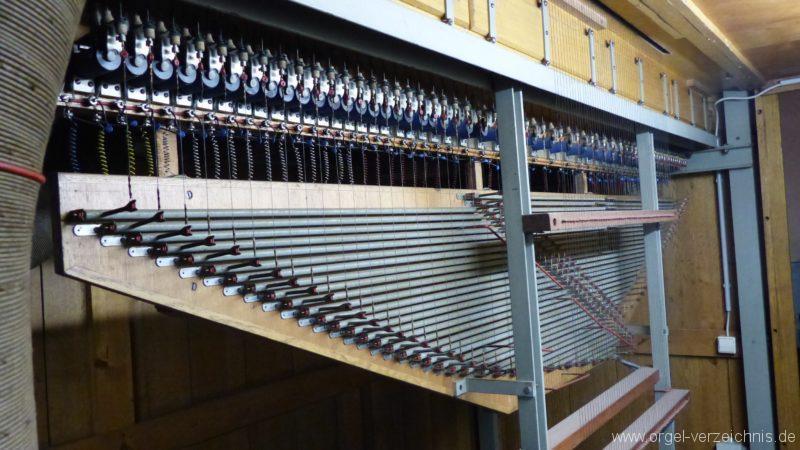 Breisach am Rhein Münster Orgelinneres II
