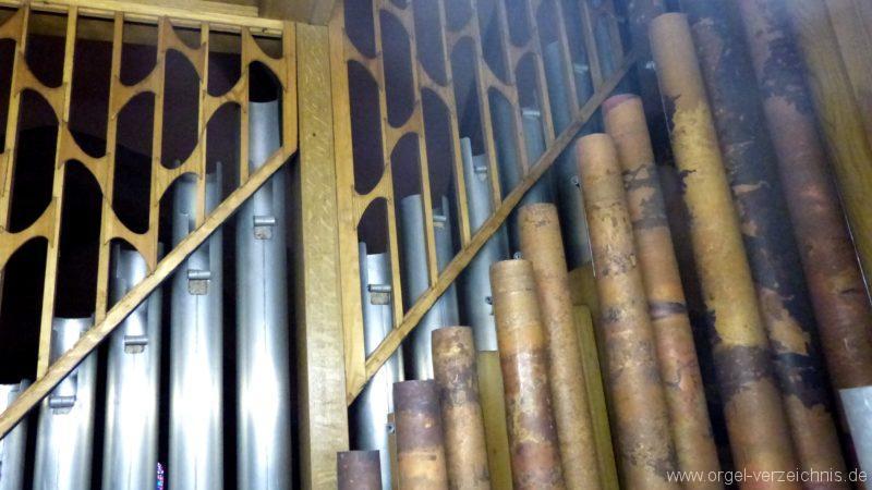 Breisach am Rhein Münster Orgelinneres IX
