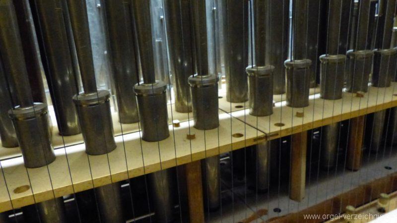 Breisach am Rhein Münster Orgelinneres XI