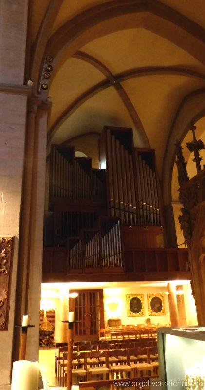 Breisach am Rhein Münster Orgelprospekt I