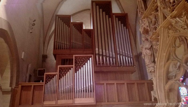 Breisach am Rhein Münster Orgelprospekt II