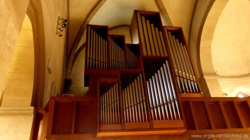 Breisach am Rhein Münster Orgelprospekt V