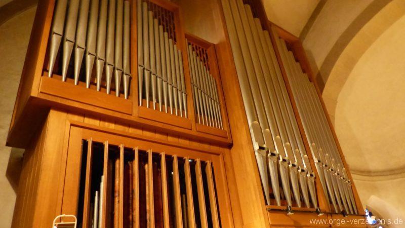 Breisach am Rhein Münster Orgelprospekt VI