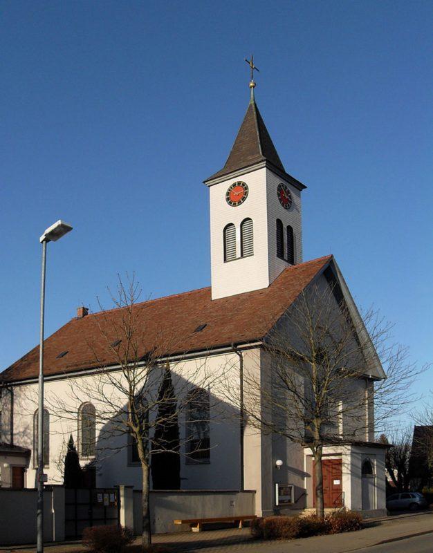 Ehrenkirchen Norsingen St. Gallus Aussenansicht I