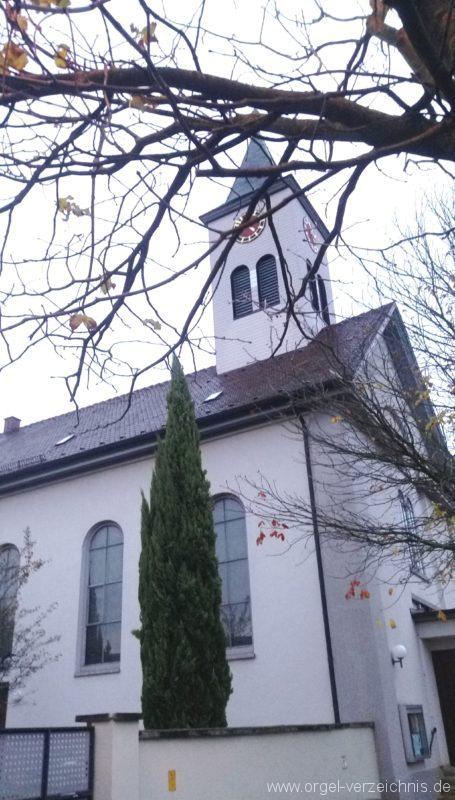 Ehrenkirchen Norsingen St. Gallus Aussenansicht II
