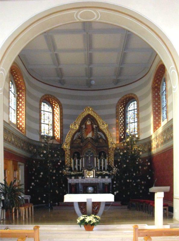 Ehrenkirchen Norsingen St. Gallus Innenansicht I