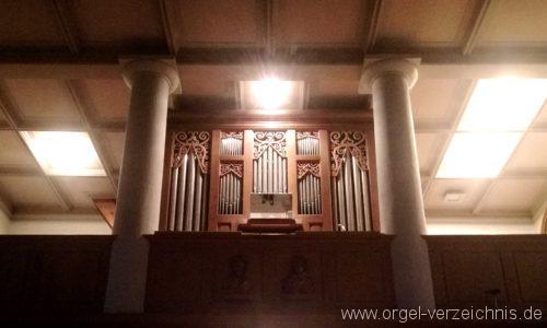 Ehrenkirchen Norsingen St. Gallus Orgelprospekt III