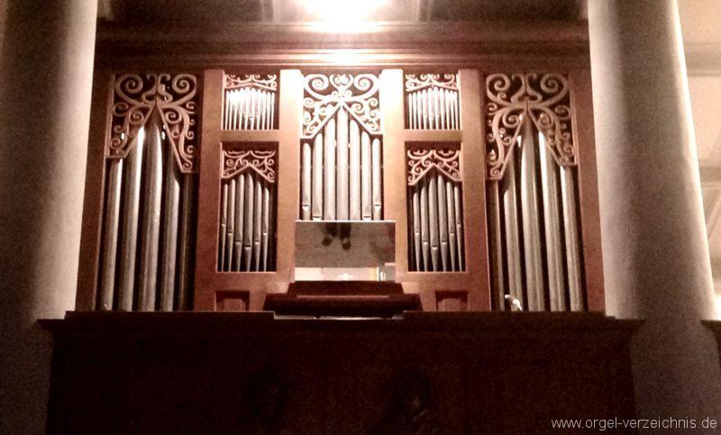 Ehrenkirchen Norsingen St. Gallus Orgelprospekt IV