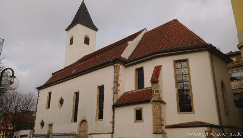 Bretten Kreuzkirche Aussenansicht I
