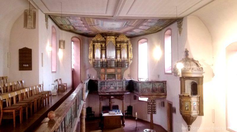 Bretten Kreuzkirche Innenansicht I